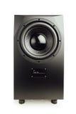 Professional studio subwoofer speaker Stock Photo