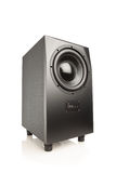 Professional studio subwoofer speaker Stock Photos