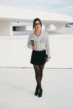 Professional stylish woman Royalty Free Stock Photography