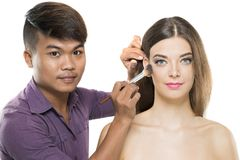 Professional stylist Stock Images