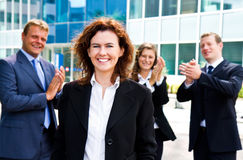 Professional success Royalty Free Stock Photo