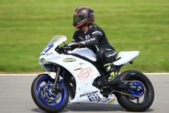 Professional Superbike Motorcycle Racing royalty free stock image