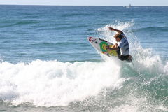 Professional Surfer Royalty Free Stock Photos