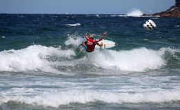 Professional Surfer Adrian Buchan Stock Images