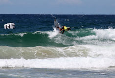 Professional surfer - Austalian Open Manly Royalty Free Stock Image