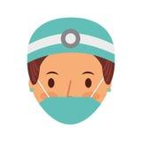 Professional surgeon avatar character Stock Photography