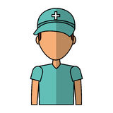 Professional surgeon avatar character. Vector illustration design Royalty Free Stock Image