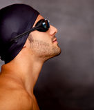 Professional swimmer Royalty Free Stock Image