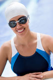 Professional swimmer Royalty Free Stock Photos