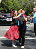 Professional Swing Dancers Royalty Free Stock Photos
