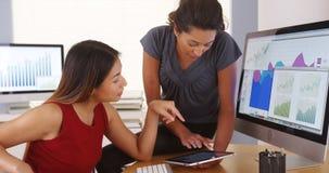 Professional team of happy multi-ethnic businesswomen Stock Images