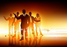 Professional Team Leaders Royalty Free Stock Images