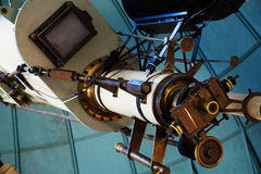 Professional telescope Royalty Free Stock Images