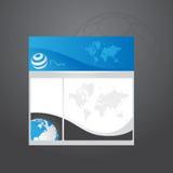 Professional template design stock photos
