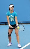 Professional tennis at the 2012 Australian Open Stock Photography