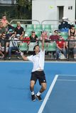 Professional tennis at the 2012 Australian Open Stock Photos