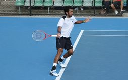 Professional tennis at the 2012 Australian Open Stock Images