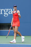 Professional tennis player Christina McHale during third round match at US Open 2013 Stock Photography