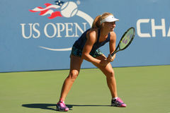 Professional tennis player Daria Gavrilova of Australia practices for US Open 2016 Stock Photo