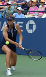 Professional tennis player Elina Svitolina during second round match at US Open 2013 against Christina McHale Royalty Free Stock Photos