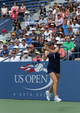 Professional tennis player Elina Svitolina during second round match at US Open 2013 against Christina McHale Stock Photos