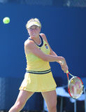 Professional tennis player Elina Svitolina from Ukraine during first round match at US Open 2014 Royalty Free Stock Photo