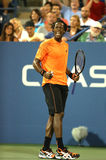 Professional tennis player Gael Monfils during second round match at US Open 2013 against John Isner Stock Images