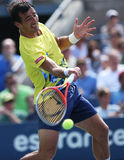 Professional tennis player Ivan Dodig during third round singles match at US Open 2013 Royalty Free Stock Photo