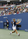 Professional tennis player Richard Gasquet during  Stock Photo