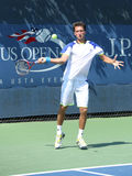 Professional tennis player Sergiy Stakhovsky from Ukraine during first round match at US Open 2013 Stock Photo