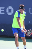 Professional tennis player Sergiy Stakhovsky from Ukraine during first round match at US Open 2014 Stock Photo