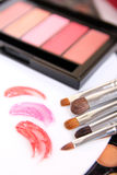 Professional Tools For Make-up Artist Stock Photo