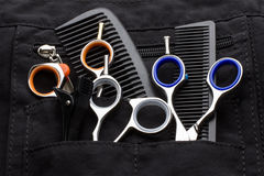 Professional tools of hairdresser Royalty Free Stock Images