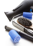 Professional tools of hairdresser Royalty Free Stock Image