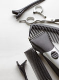 Professional tools of hairdresser Stock Photo