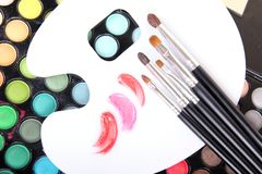 Professional tools for make-up artist Stock Image