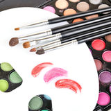 Professional tools for make-up artist Stock Photography