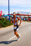 Professional triathlete - Tissink Royalty Free Stock Photos
