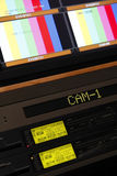 Professional TV equipment Royalty Free Stock Photography