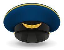 Professional uniform cap or pilot vector illustration Stock Photos