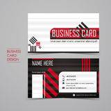 Professional vector business card set Royalty Free Stock Photography