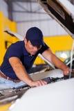 Professional vehicle technician Stock Photo