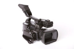 Professional video camcorder Royalty Free Stock Photos