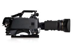 Professional video camera Stock Photo