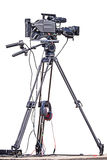 Professional video camera. Stock Image