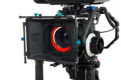 Professional video camera Stock Photography