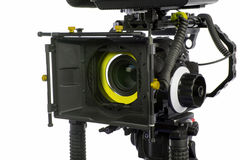 Professional video camera Royalty Free Stock Images
