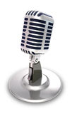 Professional vocal microphone. Royalty Free Stock Photos