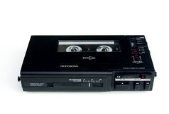 Professional walkman cassette recorder. Professional stereo walkman cassette recorder as used in radio royalty free stock photography
