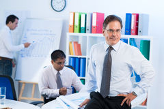 Professional white-collar worker Royalty Free Stock Photo